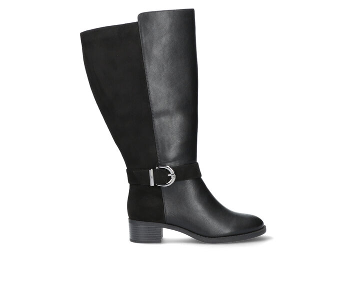 Women's Easy Street Victoria Extra Wide Calf Knee High Boots
