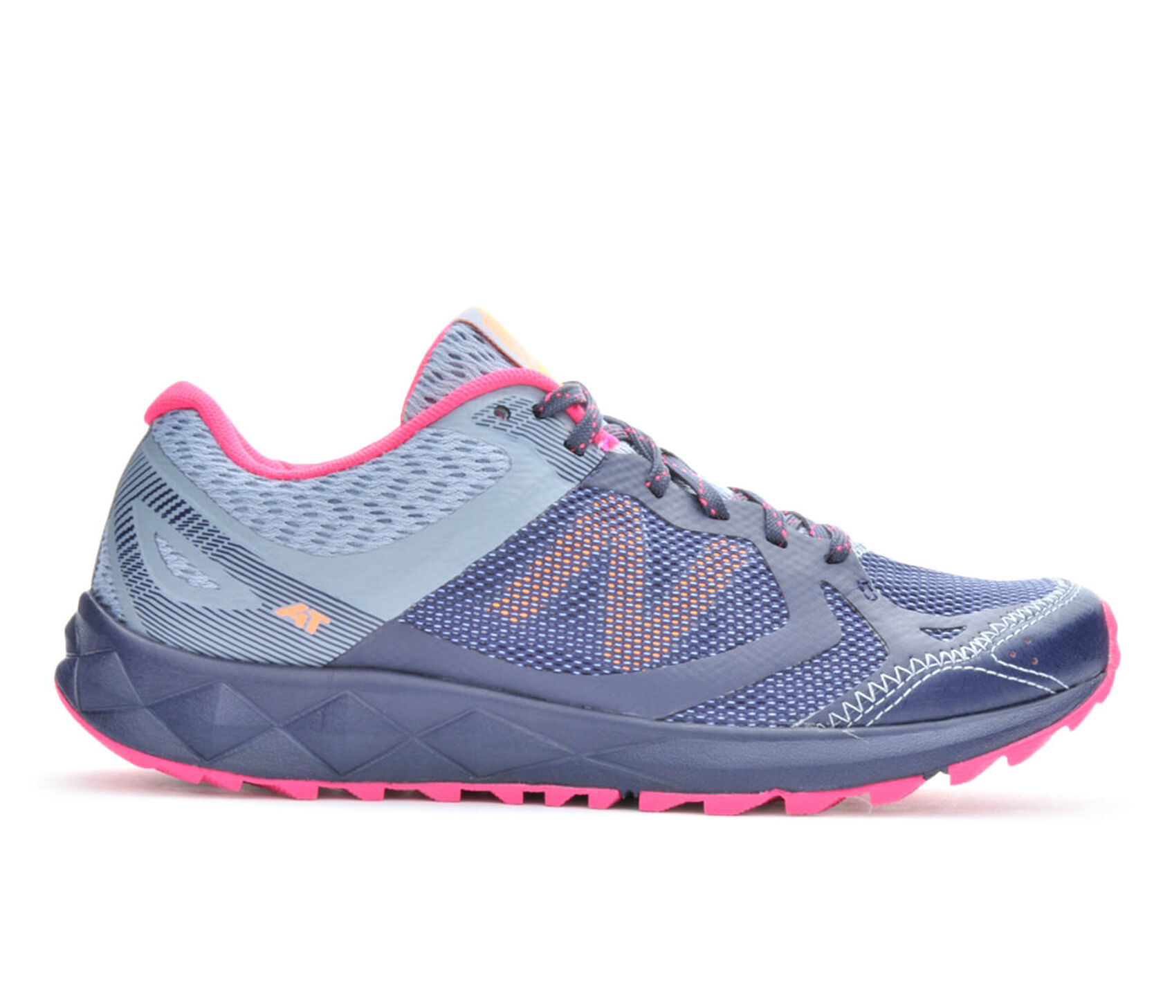 New Balance Women Running Shoe Pink Black Yellow