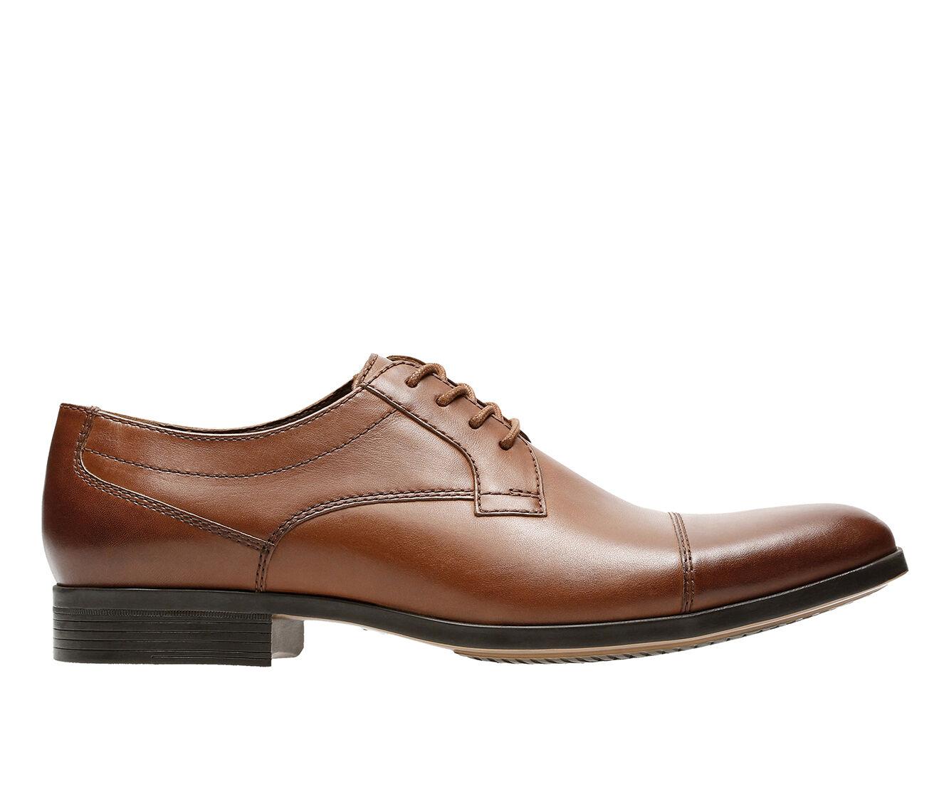 Men's Clarks Conwell Cap Dress Shoes Tan