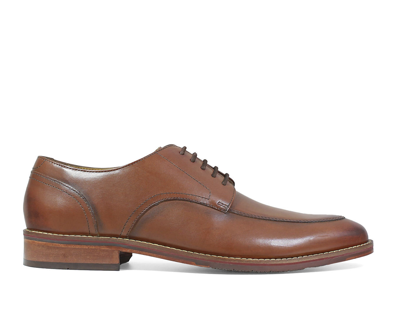 Men's Florsheim Salerno Moc Oxford Dress Shoes Cognac