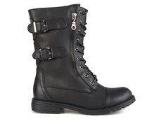 Women's Journee Collection Cedes Combat Boots