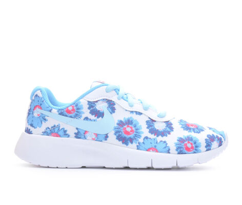 Girls' Nike Tanjun Print 10.5-3 Girls Sneakers