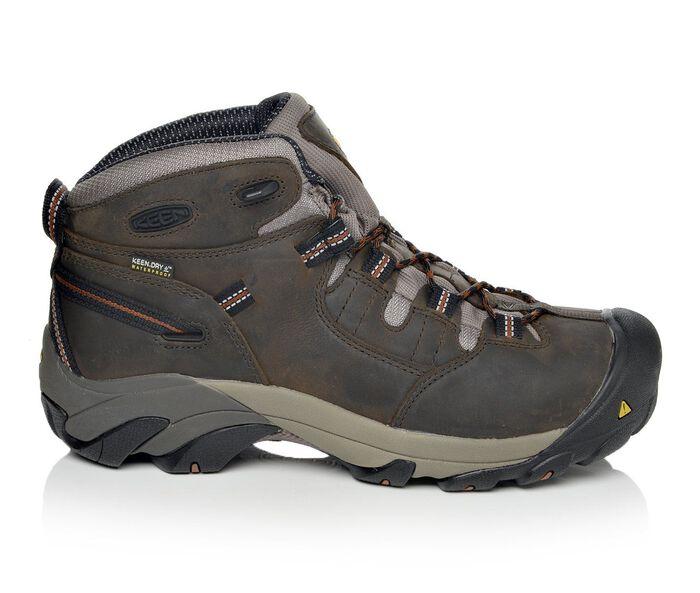 Men's Keen Utility Detroit Mid Soft Toe Work Boots