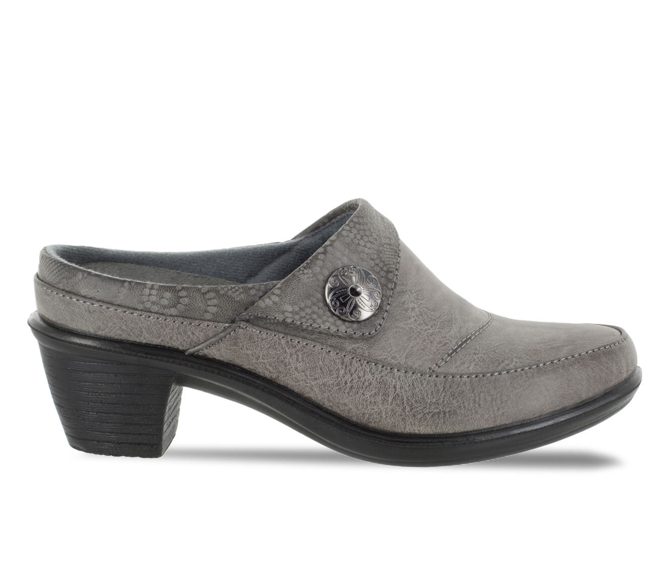 Women's Easy Street Journey Shoes Grey/Embossed