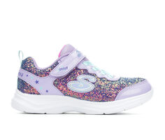 Girls' Skechers Little Kid & Big Kid Glitter N' Glow Light-Up Sneakers
