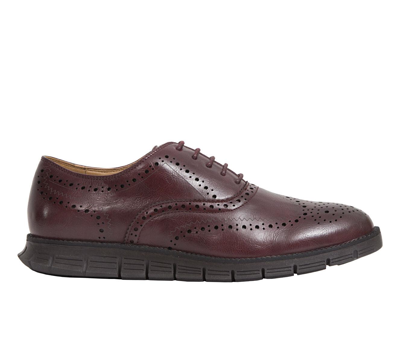 Men's Deer Stags Benton Dress Shoes Burgundy