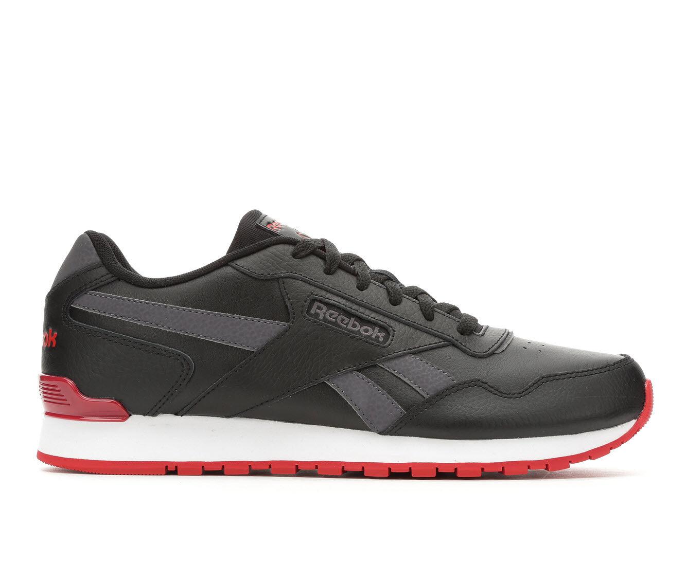 Men's Reebok Harman Run Clip Retro Sneakers Blk/Red/Wht