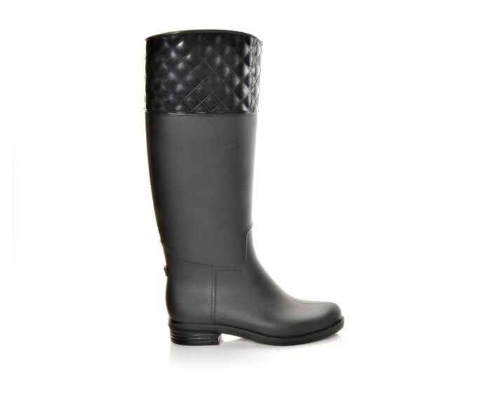 Women's Capelli New York Quilted Rider Rain Boots