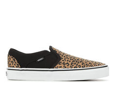 Women's Vans Asher Animal Skate Shoes