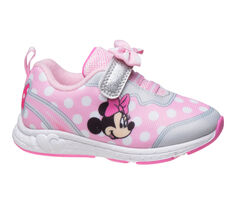 Girls' Disney Toddler & Little Kid Minnie Mouse Bow Sneakers