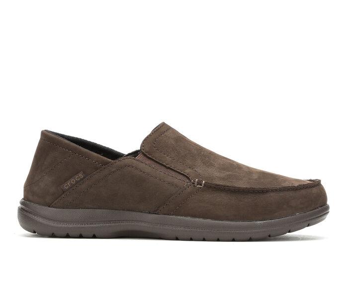 Men's Crocs Santa Cruz Convertible Leather Slip On