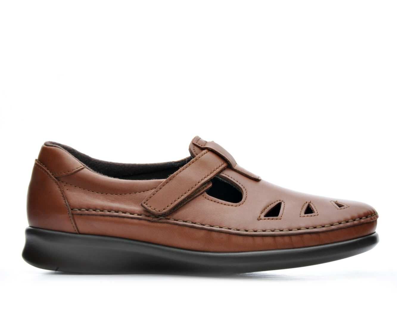 cheap designer Women's Sas Roamer Comfort Shoes Chestnut