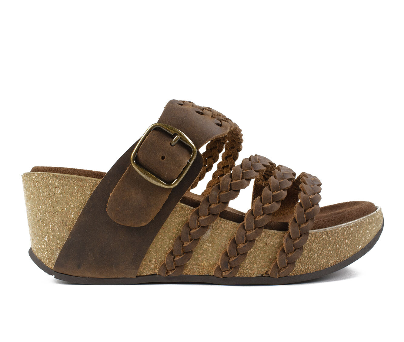 Women's White Mountain Chantilly Sandals Brown