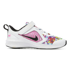 Girls' Nike Little Kid Downshifter 10 Print Running Shoes