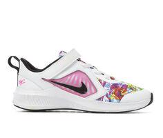 Girls' Nike Little Kid Downshifter 10 Print Running Shoes