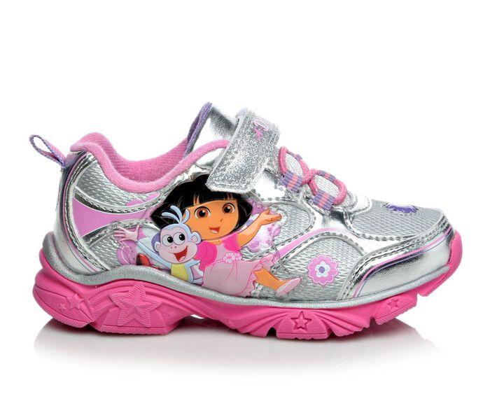 Girls' Nickelodeon Dora & Boots Lights 6-12 Light-Up Shoes