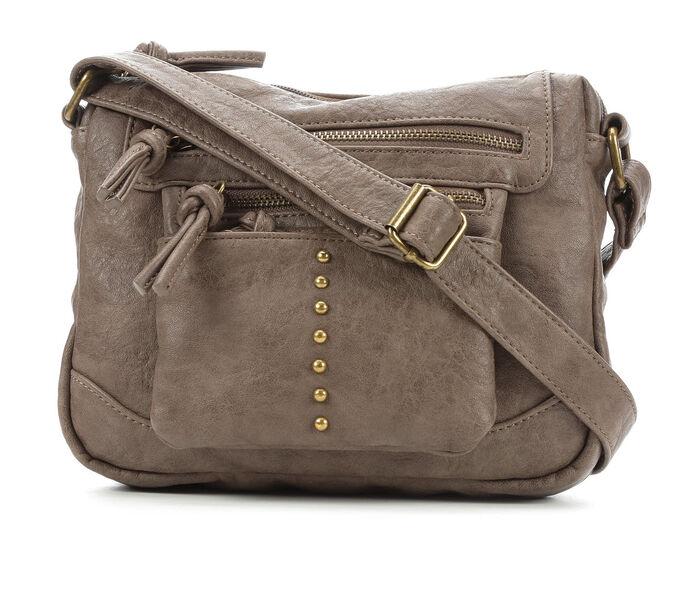 Bueno Of California Washed Vintage Crossbody Handbag