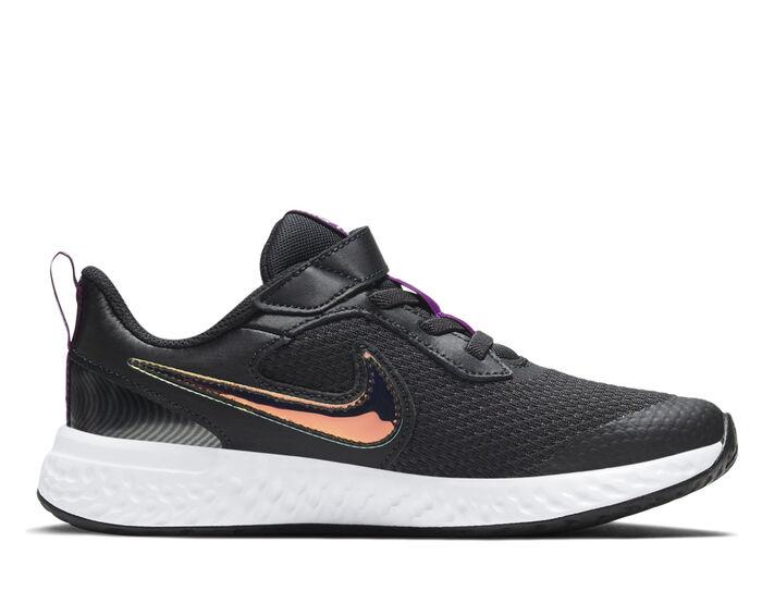 Girls' Nike Little Kid Revolution 5 Print Running Shoes