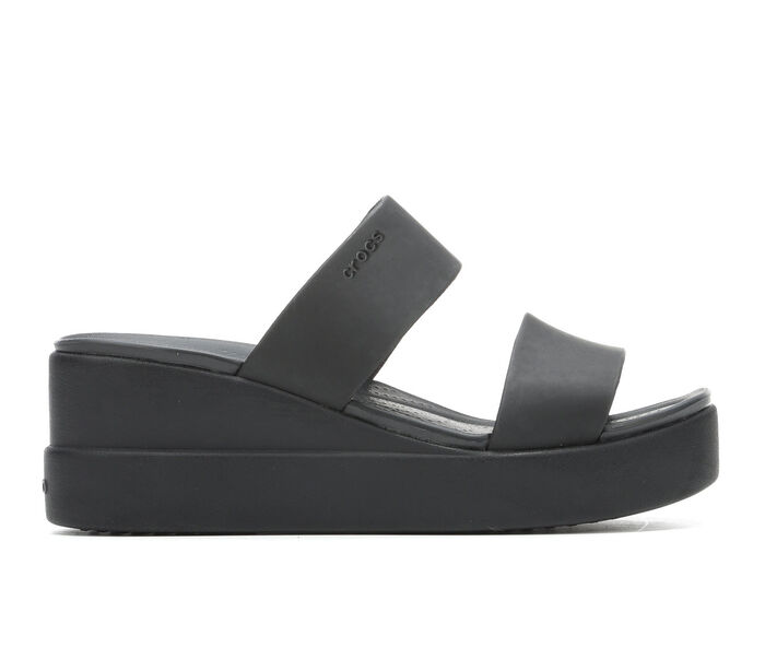 Women's Crocs Brooklyn Mid Wedge Sandals