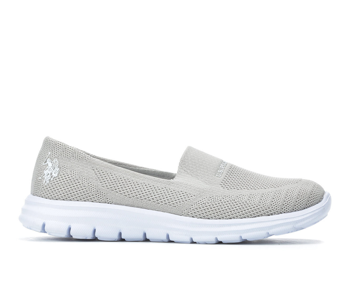 available Women's US Polo Assn Clone-K Grey/White