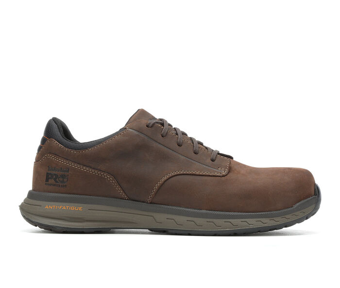 Men's Timberland Pro A1z6A Drivetrain Leather Work Shoes