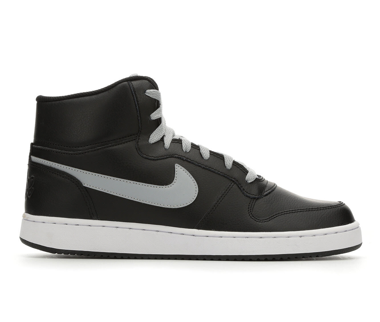 cheapest new arrivals Men's Nike Ebernon Mid Sneakers Blk/Gry/Wht 006