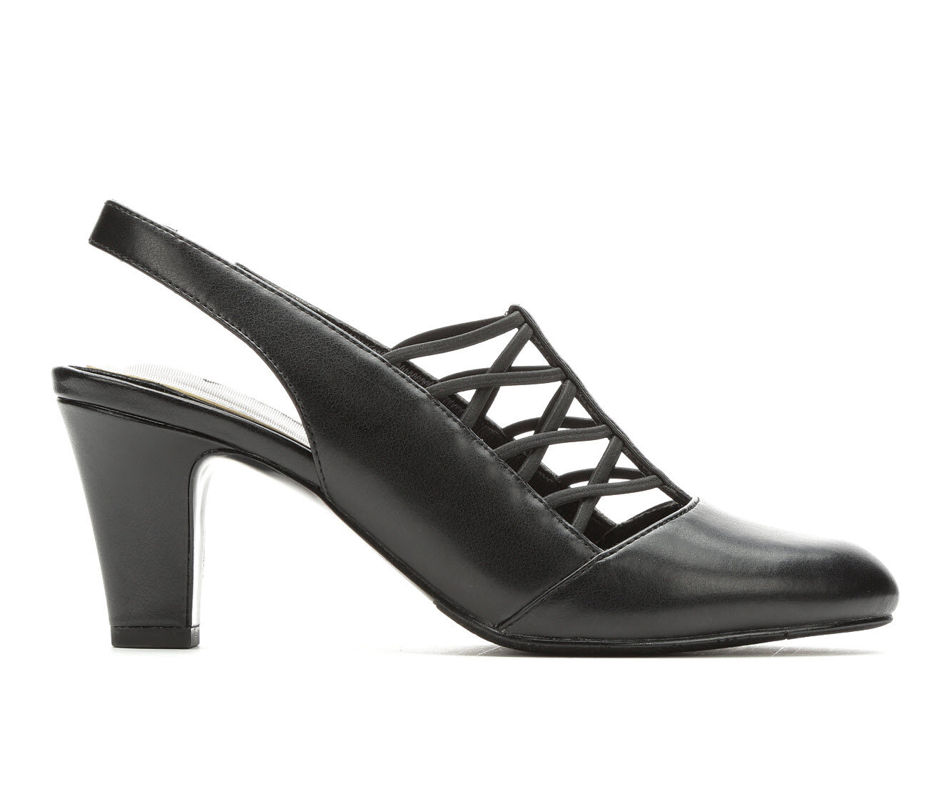 Women's Easy Street Berry Heels Black