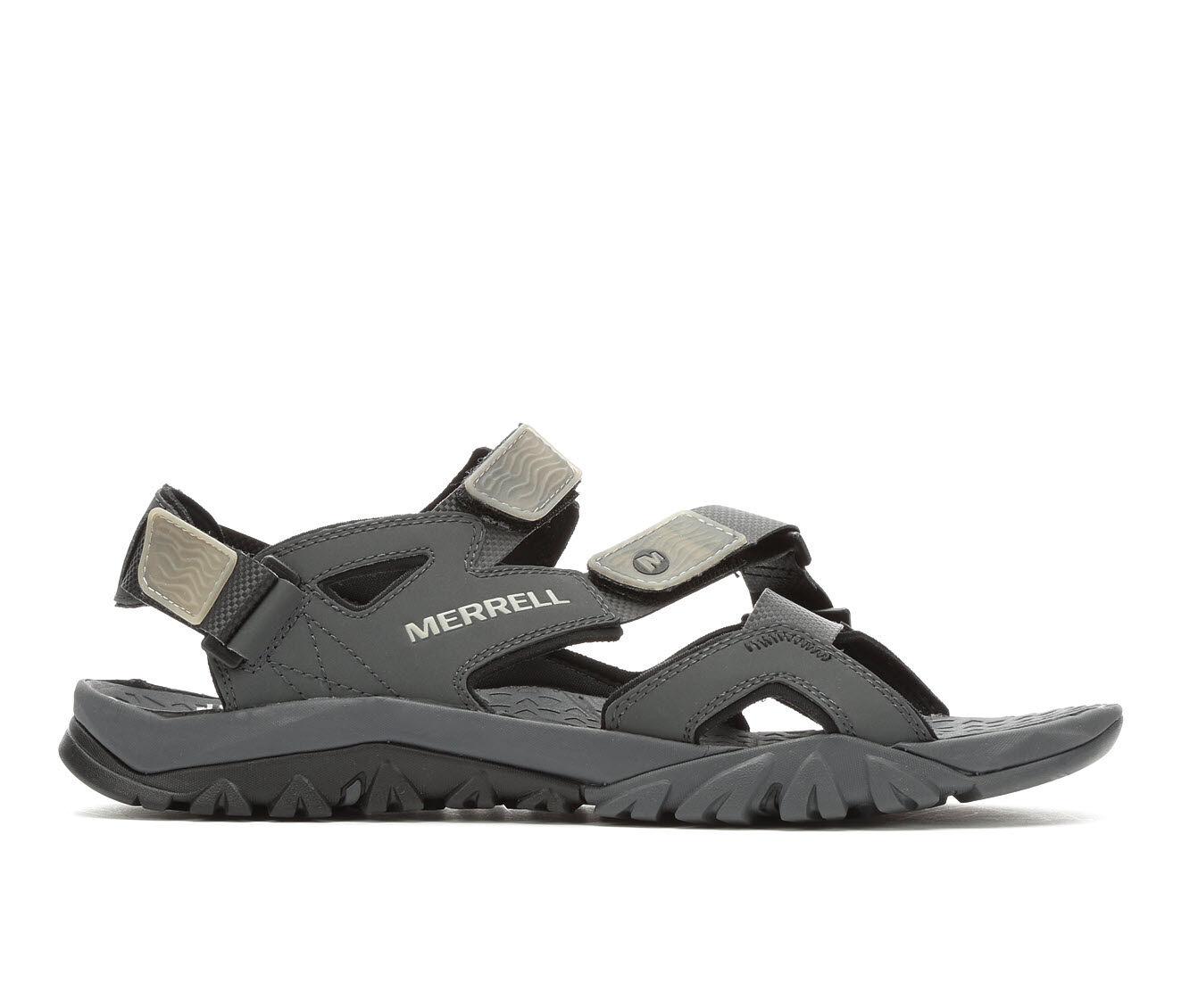 Men's Merrell Tetrex Crest Strap Hiking Sandals Black