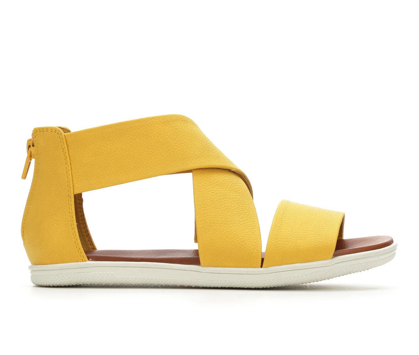 Women's MIA Deana Strappy Sandals Yellow