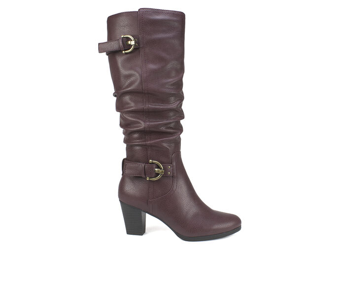 Women's Rialto Farewell Ruched Knee High Boots
