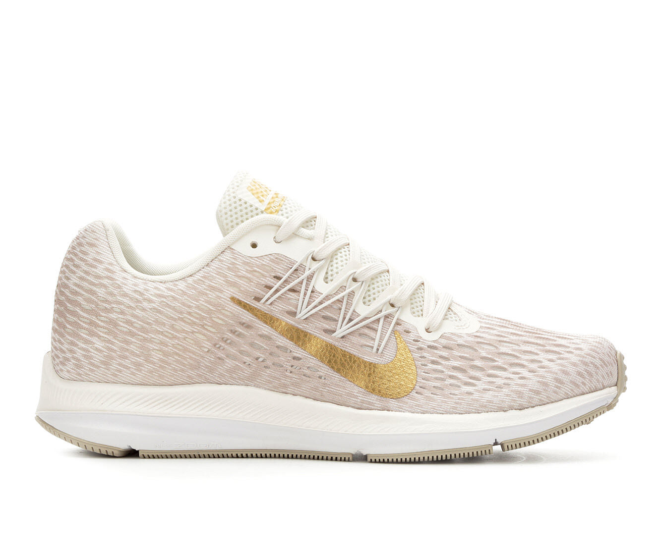 Massive discount Women's Nike Zoom Winflo 5 Running Shoes Phantom/Gld/Wht