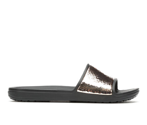 Women's Crocs Sloane Hammered Slide