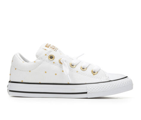 Girls' Converse Chuck Taylor All Star Street Ox Metallic Sneakers