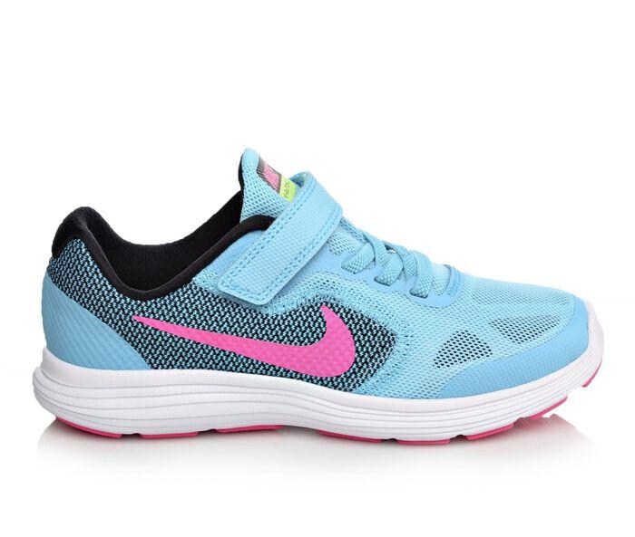 Girls' Nike Revolution 3 10.5-3 Running Shoes