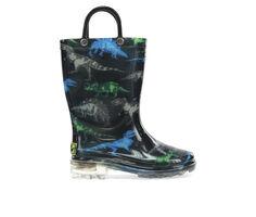 Boys' Western Chief Little Kid Dinosaur Friends Rain Boots