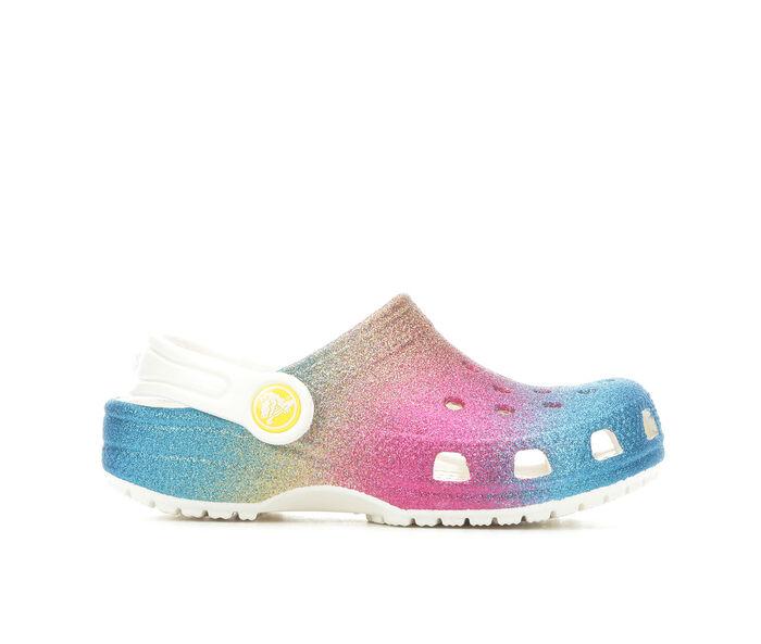 Girls' Crocs Toddler Classic Glitter Clog