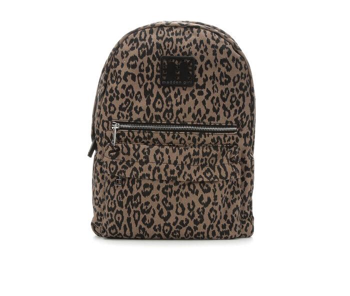 Madden Girl Handbags Leopard Backpack Handbag