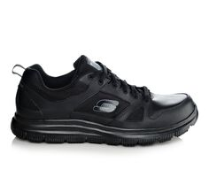 Men's Skechers Work 77040 Flex Advantage Slip Resistant Safety Shoes