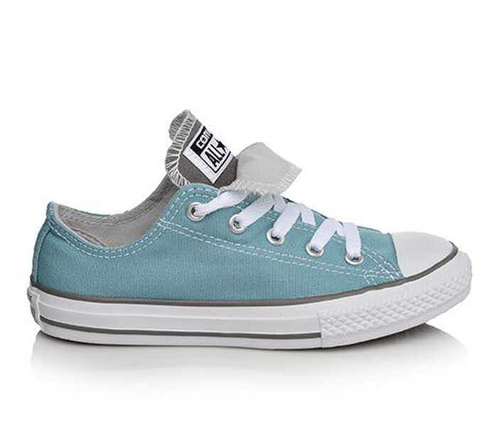 Girls' Converse Chuck Taylor Double Tongue Ox Sneakers
