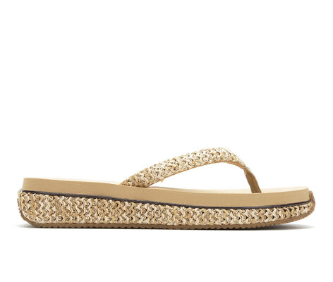 Women's Volatile Matzo Low Wedge Flip-Flops