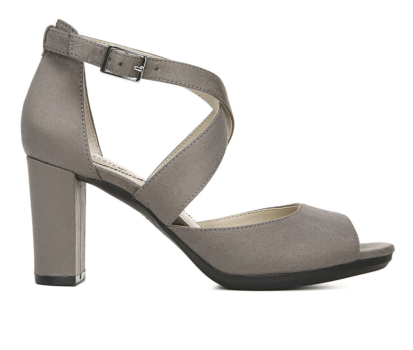 Women's LifeStride Allison Dress Sandals Grey