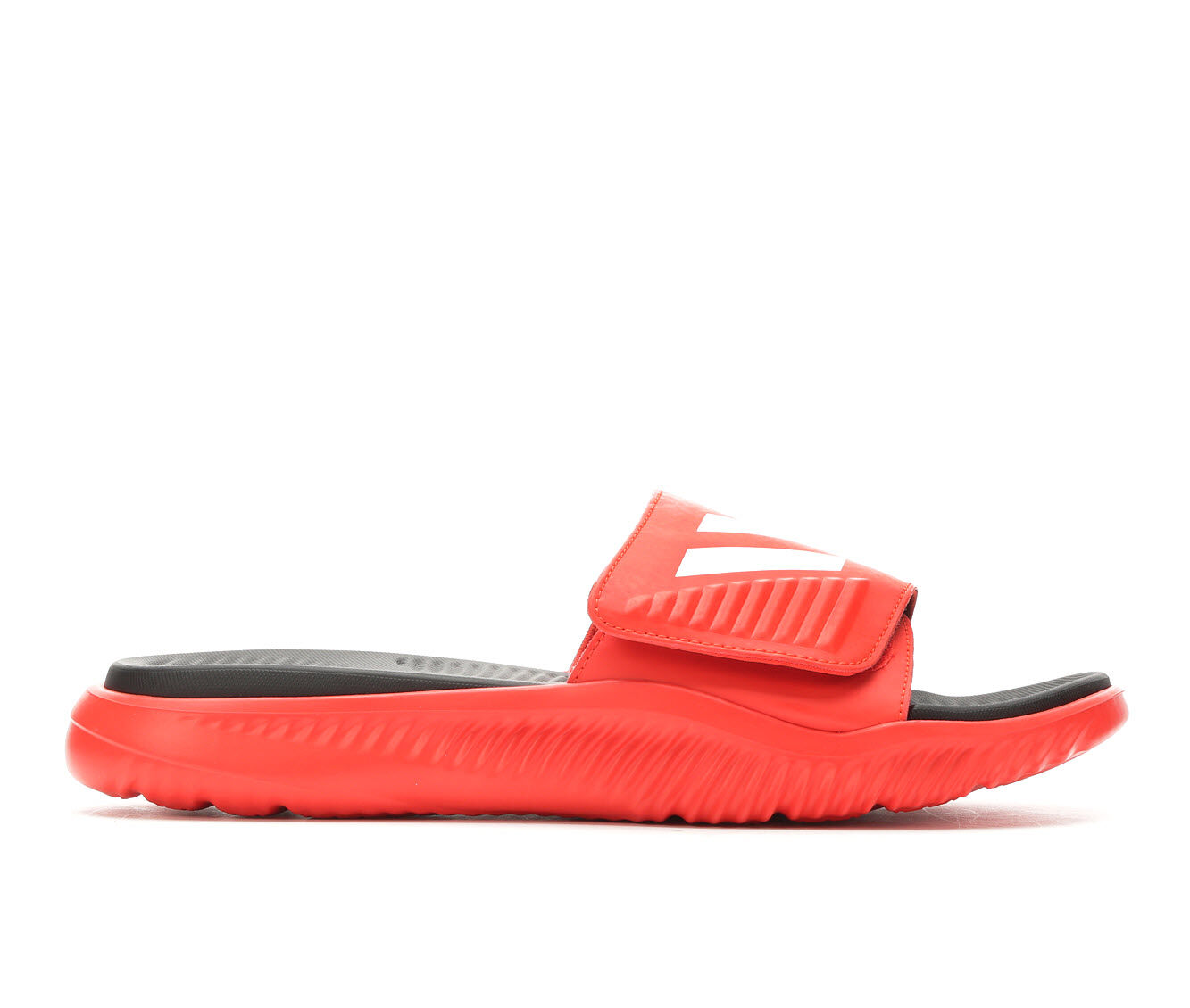 Men's Adidas AlphaBounce Slide Sport Slides Red/White/Black