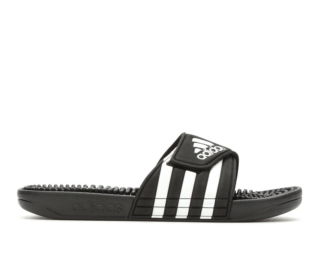 Women's Adidas Addisage Sport Slides Black/White