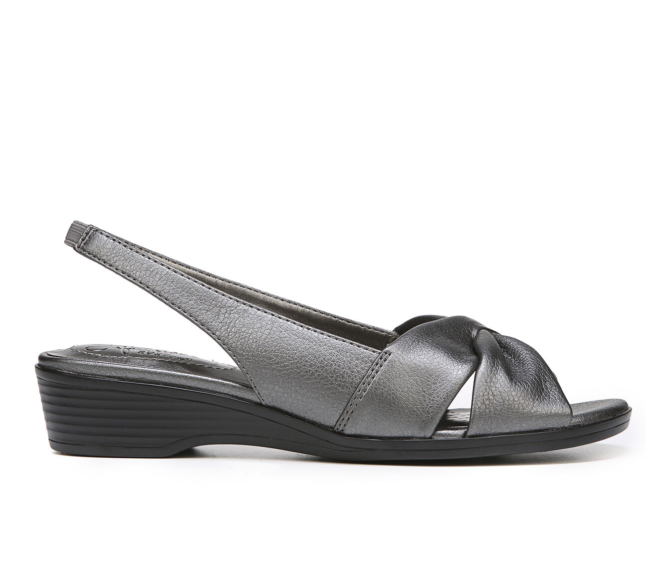 UK Outlet Store Women's LifeStride Mimosa 2 Wedges Pewter
