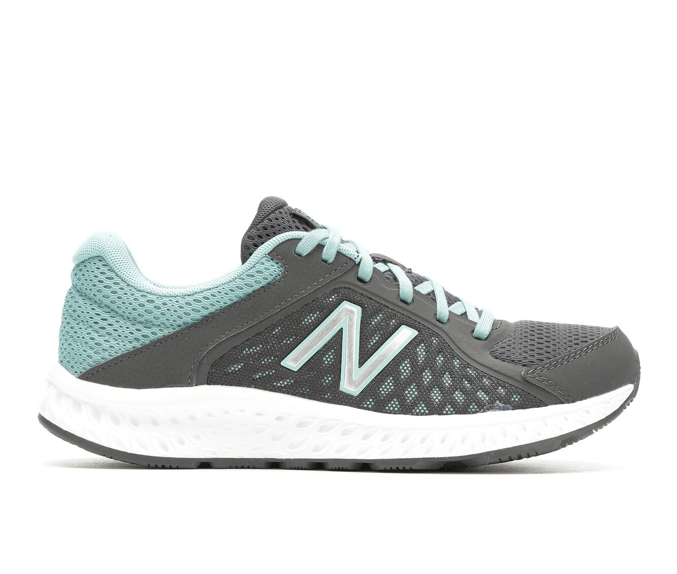 purchase authentic cheap Women's New Balance W420V4 Running Shoes Grey/Turq