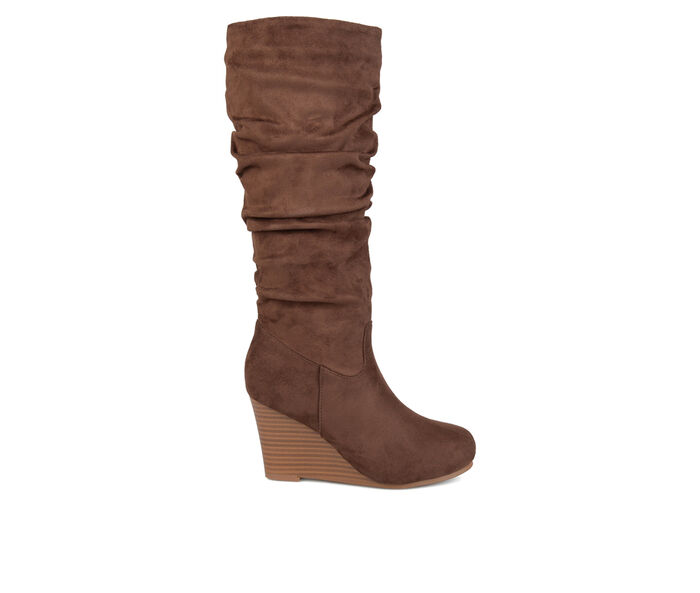 Women's Journee Collection Haze Wide Calf Knee High Boots