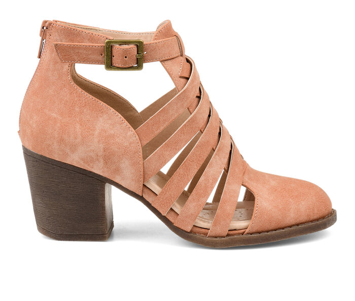 Women's Journee Collection Isadore Cut-Out Booties