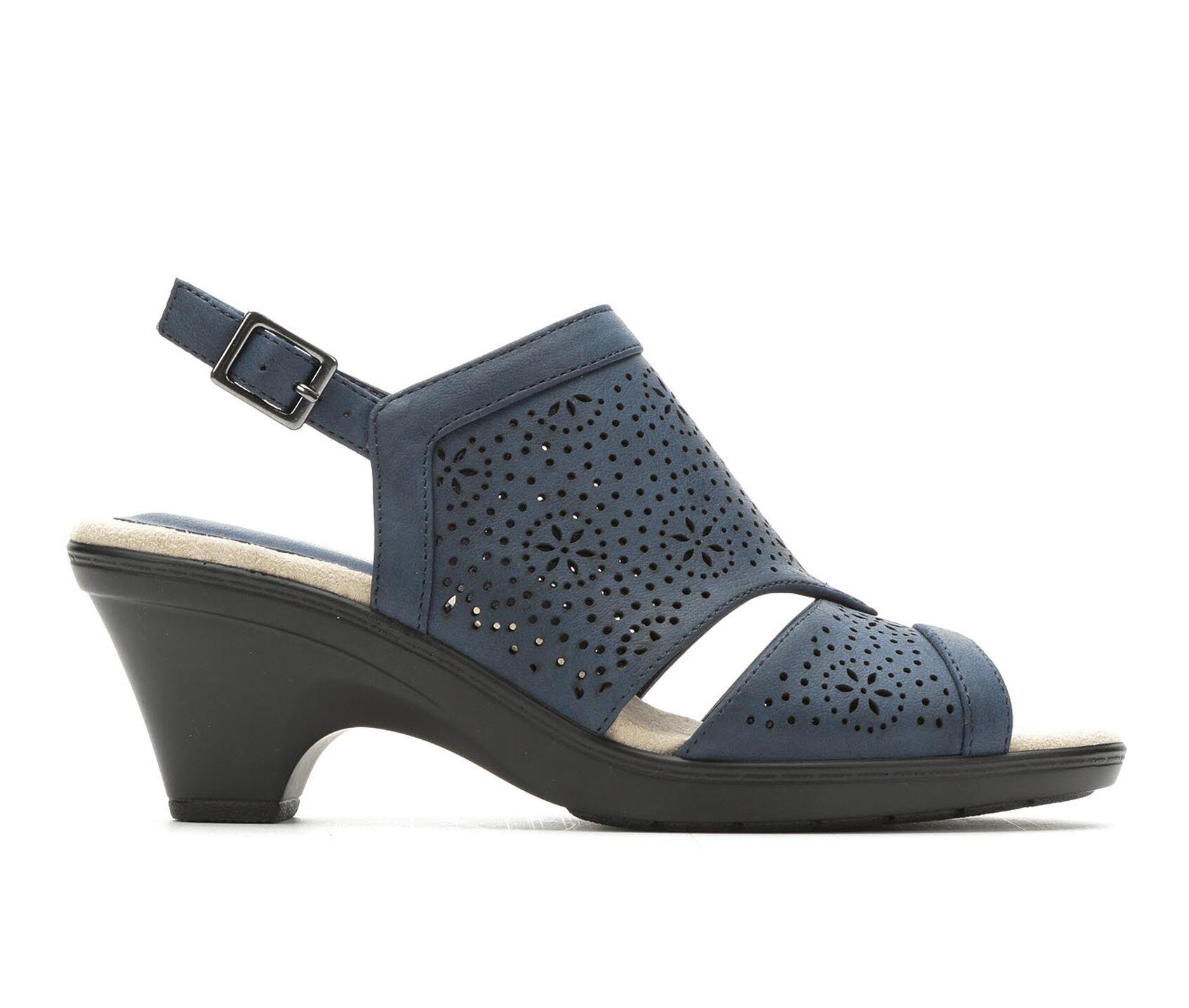 7ffe1e24ff27 Women s Easy Street Linda Heeled Sandals