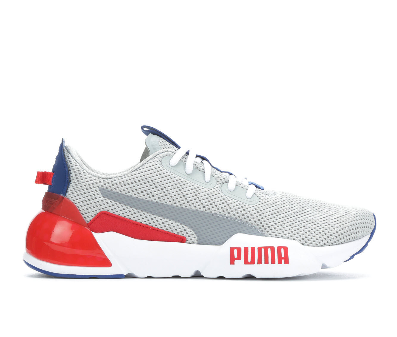 Men's Puma Cell Phase Sheer Sneakers Gry/Blu/Red/Wht