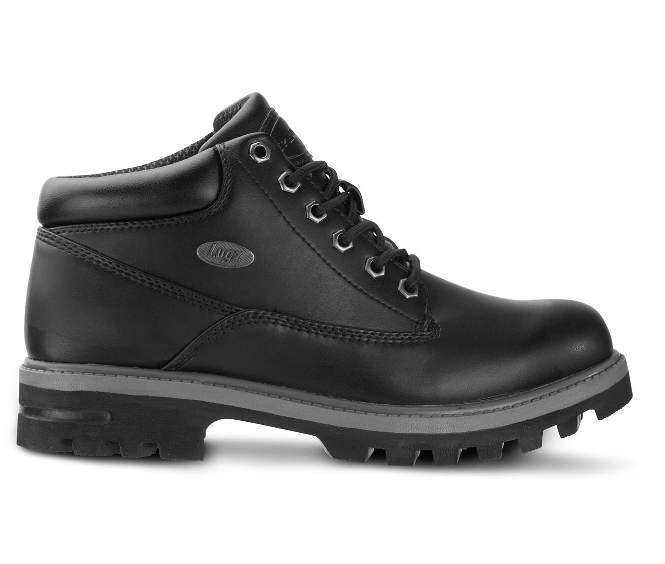buy discount Men's Lugz Empire Water Resistant Boots Black/Charcoal